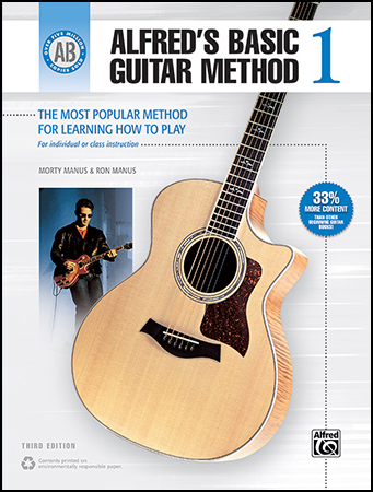 Alfred's Basic Guitar Method, Book 1