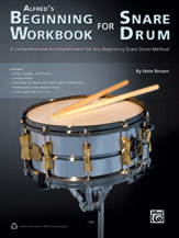 Alfred's Beginning Workbook for Snare Drum