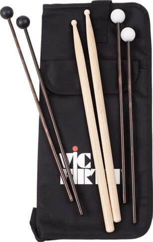 Vic Firth Education Sticks and Bag Pack with SD1, M5 & M14