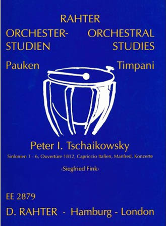 Orchestral Studies for Timpani