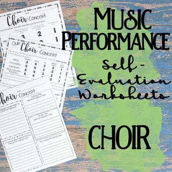 Music Performance Self-Evaluation: Choir