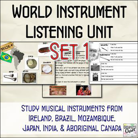 World Instruments Listening Unit 1