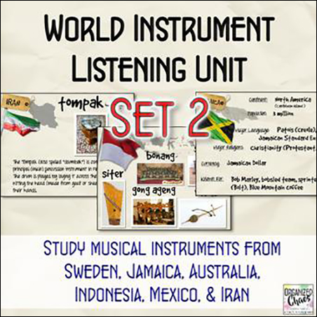 World Instruments Listening Unit 2