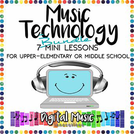 Music Technology Bundle: 7 Mini-Lessons for GarageBand