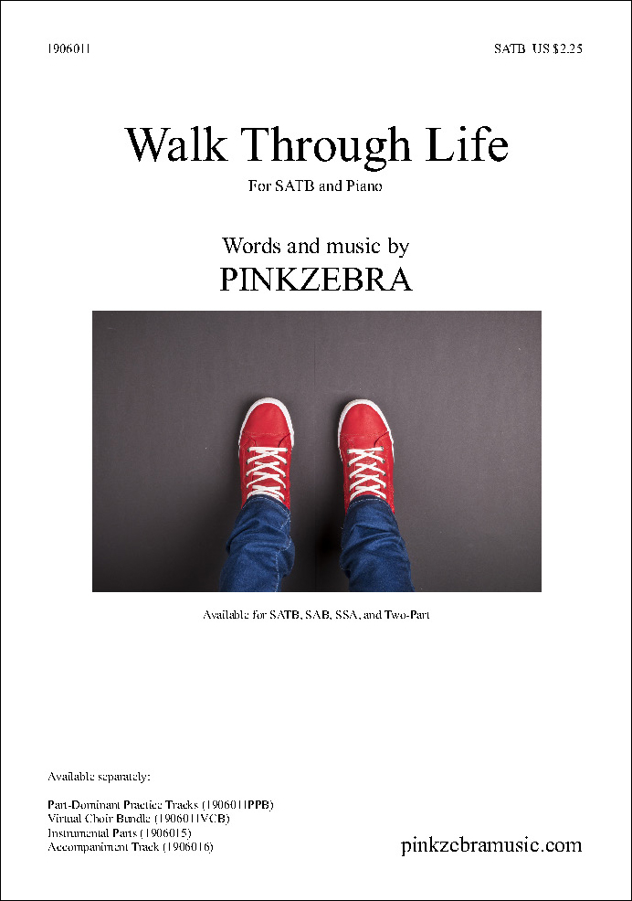 Walk Through Life choral sheet music cover