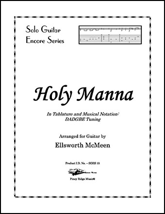 Holy Manna (Dropped D Tuning)