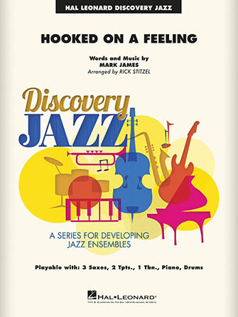 Hooked on a Feeling jazz sheet music cover
