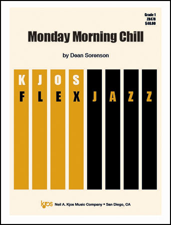 Monday Morning Chill jazz sheet music cover
