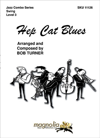 Hep Cat Blues jazz sheet music cover