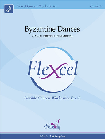 Byzantine Dances choral sheet music cover