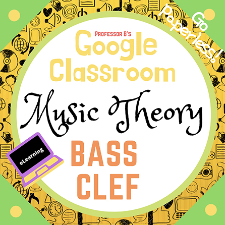 Unit 1: Music Theory Lesson 3: The Bass Clef and Staff