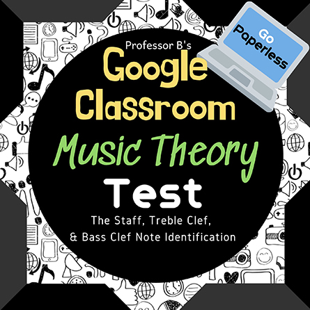 Unit 1: Music Theory Lesson 4: Unit Test