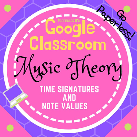 Unit 2: Music Theory Lesson 7: Time Signatures and Note Values