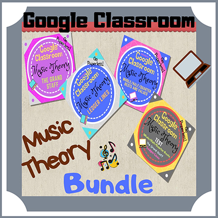Unit 3: Music Theory Lessons 9 - 12: Complete Bundle