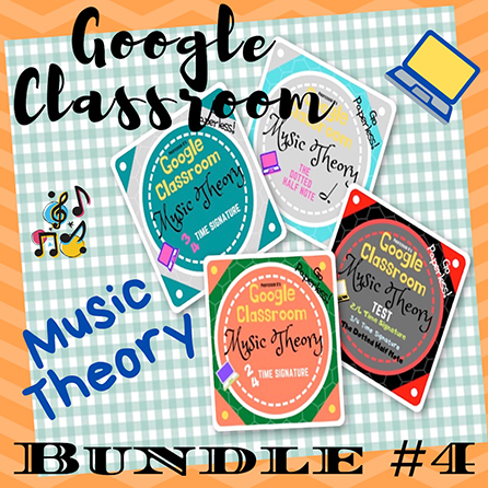 Unit 4: Music Theory Lessons 13-16: Complete Bundle
