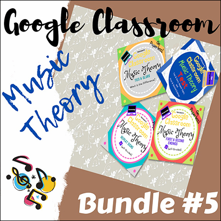 Unit 5: Music Theory Lessons 17-20: Complete Bundle