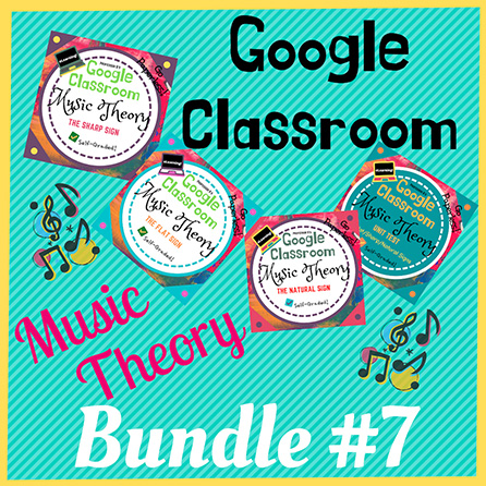 Unit 7: Music Theory Lessons 25-28: Complete Bundle