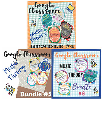 Units 4, 5, 6: Music Theory Lessons 13-24: Complete Bundle