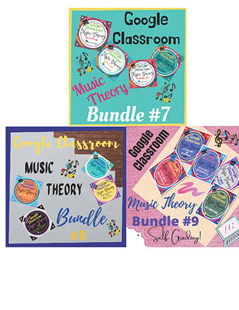 Units 7,8,9: Music Theory Lessons 25-37: Complete Bundle