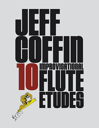 10 Improvisational Flute Etudes jazz sheet music cover