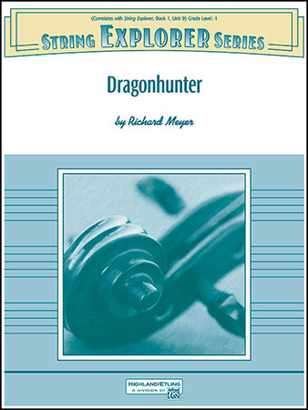 Dragonhunter choral sheet music cover