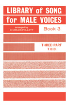 Library of Songs for Male Voices No. 3