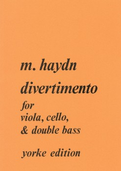 Divertimento-Vla/Cello/Str Bass
