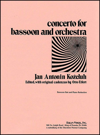 Concerto for Bassoon & Orchestra
